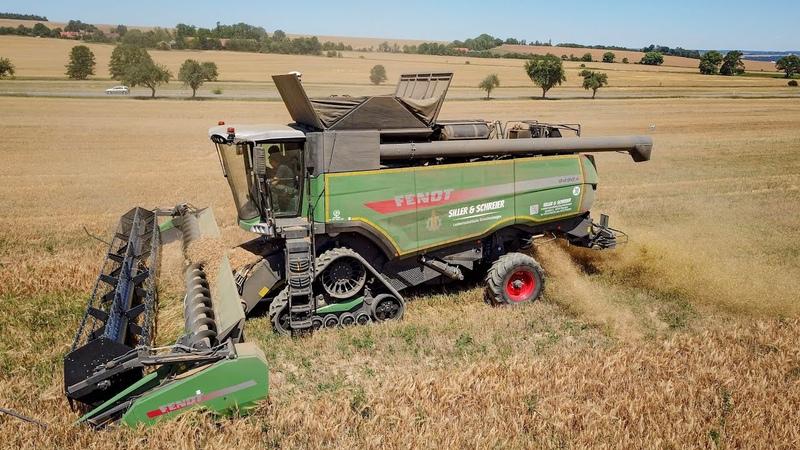 Harvest 2018 - FENDT 9490X tracks Fendt PowerFlow |Siller Schreier|
