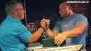 John BRZENK vs Travis BAGENT arm wrestle for 10 000$ !
