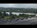 Президентский кортеж Владимира Путина прибыл в Омск