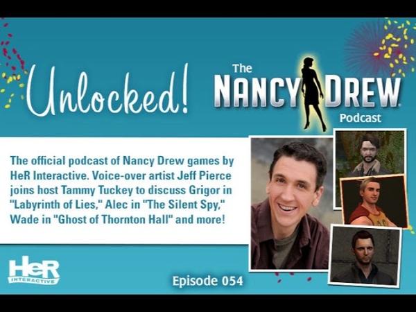 Unlocked! The Nancy Drew Podcast Episode 054