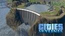 Cities Skylines - ГЭС работающая от канализационных вод! 33