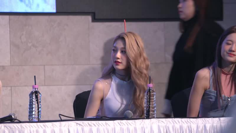[4K] 181021 프로미스나인 러브밤 팬싸인회 이서연 직캠 _ fromis_9 Lee seo yeon moments Fancam @Love bomb Fan signing day