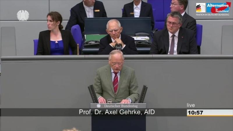 Dieses Gesundheitssystem hat fertig - Prof- Axel Gehrke - AfD-Fraktion im Bundestag