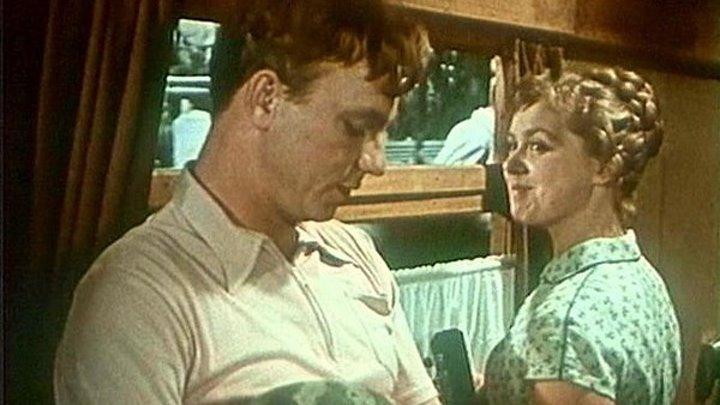 Девушка без адреса. 1957. Full HD. /Фильмы СССР и Россия/.