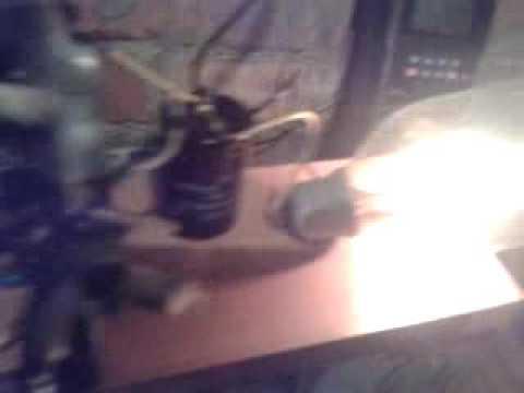 Импульсное устройство для проверки устойчивости электросети к импульсным супер токам