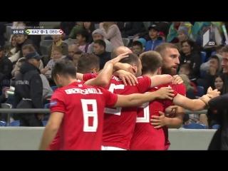 Первый гол Лиги Наций. Не гол - ГОЛЛАССО!