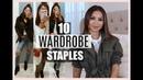 TOP 10 BASICS YOU NEED IN YOUR CLOSET FOR FALL | S1 EP1 Diana Saldana