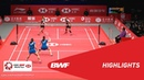 HSBC BWF World Tour Finals 2018 | WD - F - HIGHLIGHTS | BWF 2018