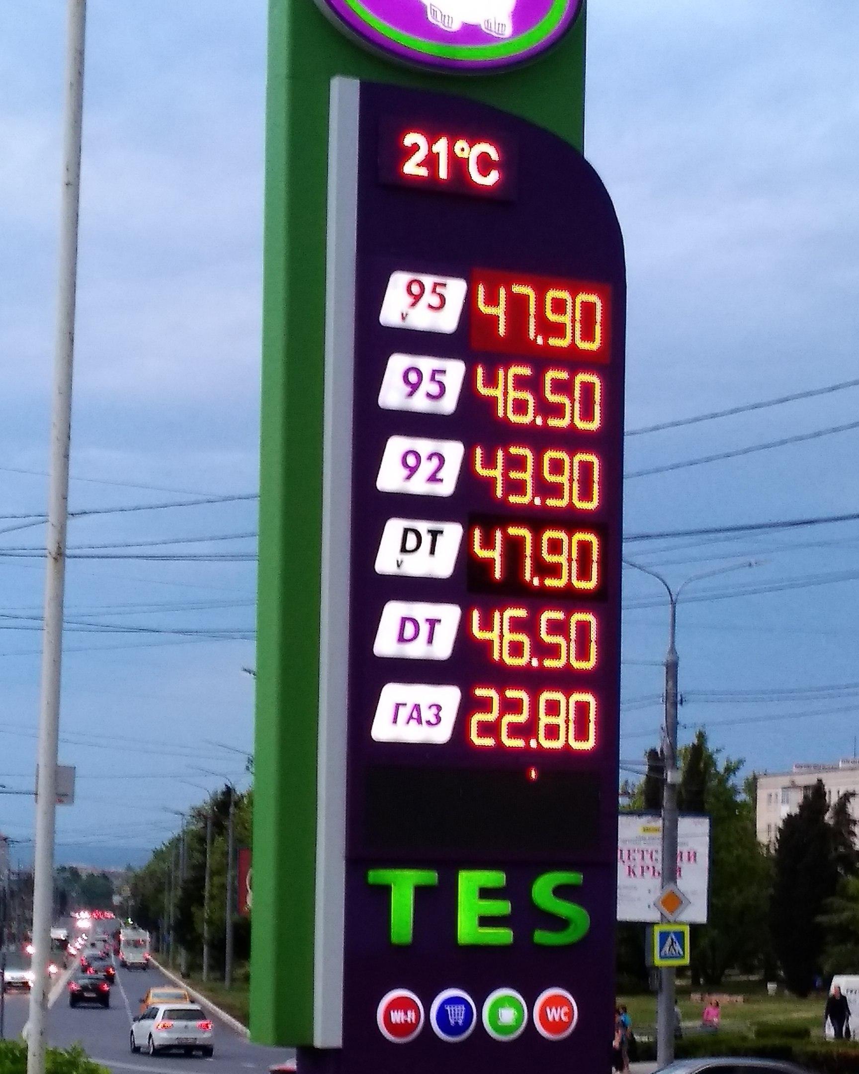 Ожидания по поводу снижения цен на бензин не оправдались