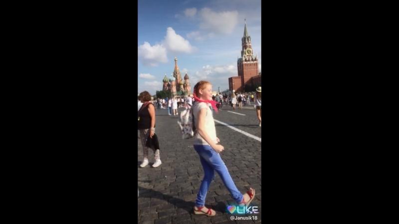 В Москве на Красной Площади