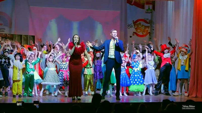 Да здравствует сцена - Максим Алексеев и Олеся Саксонская