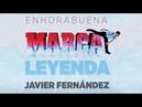 Javier Fernández recibe el MARCA Leyenda, en directo l MARCA