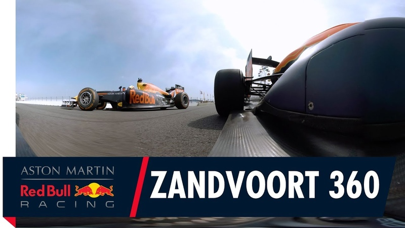 Zandvoort 360   Max Verstappen Daniel Ricciardo and David Coulthard unleashed