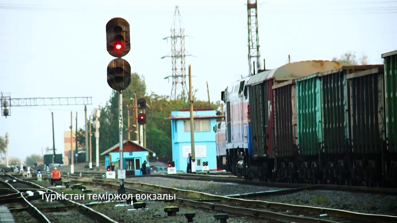 Түркістан темір жол вокзалы