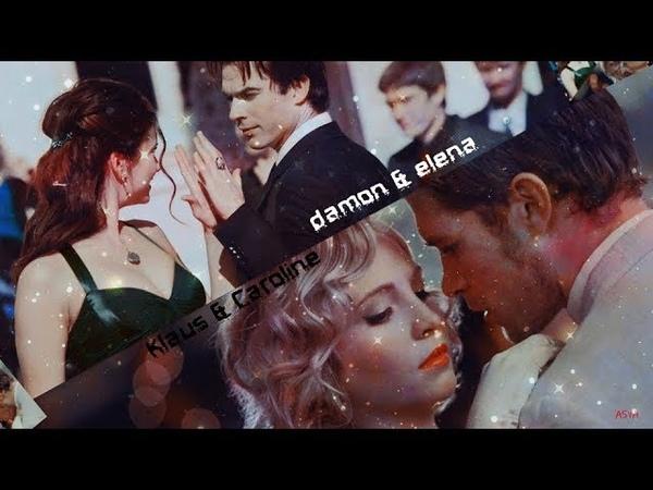 Damon Elena ✘ Klaus Caroline |«Самба белого мотылька»