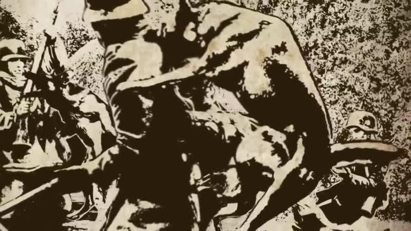 Бой пограничнных собак в селе Легедзино