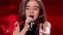 Johnny Hallyday - Vivre pour le meilleur   Inès   The Voice Kids France 2018   Demi-finale