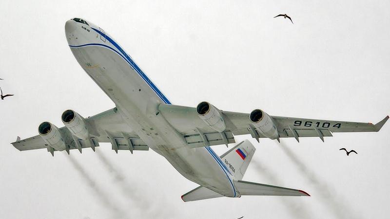 ИЛ-96-400 - Король Неба! - Аэродром Жуковский 2019 «ЛИИ им. Громова»
