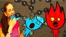 Огонь 🔥 и 💦 Вода на Жутком Острове 2 часть МАГИЯ ДУХОВ игра на двоих Увлекательное приключение от