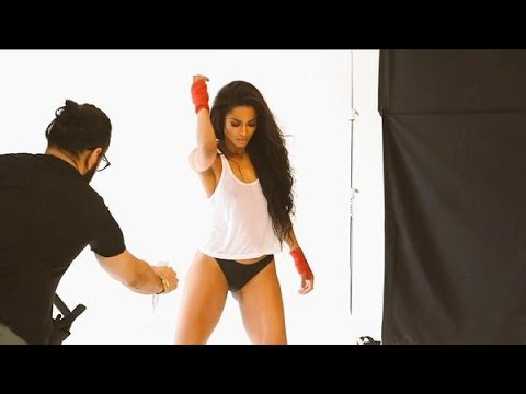 Behind the Scenes w Ciara for her Shape Mag Cover Shoot