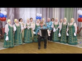 Уральские бабушки поздравили президента песней