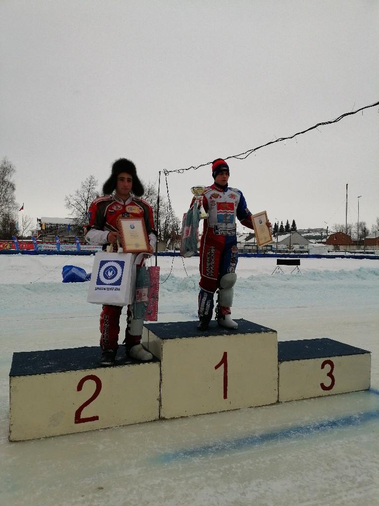Призеры мотогонок в 9-10 февраля 2019 года, третьего и четвертого этапов командного чемпионата России среди спортсменов, которые выступают в Высшей лиге