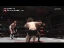 Hajime Soma Sumeragi vs Masayuki Mitomi Rionne Fujiwara W 1 WRESTLE 1 Tour 2017 Flashing S