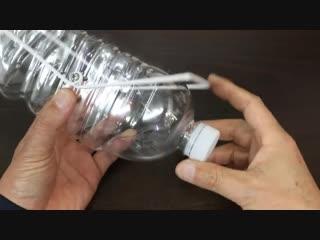 Ловушка для птиц из бутылки воды kjdeirf lkz gnbw bp ,enskrb djls