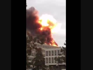Мощный взрыв в Лионе