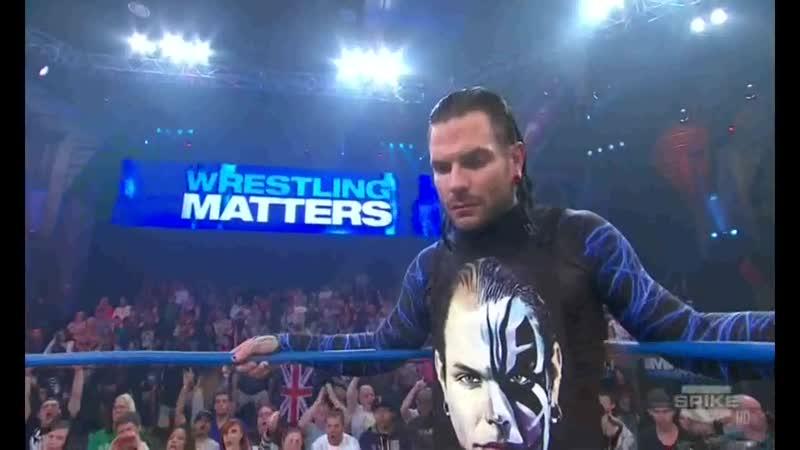 TNA Impact Wrestling 01 12 2011 Jeff Hardy vs AJ Styles vs Bobby Roode