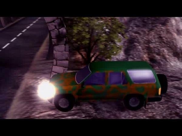 King Of The Road - стартовый ролик при запуске игры