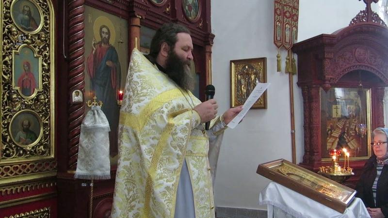 Иерей Владимир Черников - Патриаршее послание по случаю празднования Дня православной молодежи