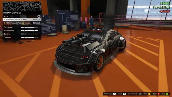 Grand Theft Auto 5 - Обзор Annis ZR380
