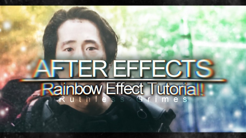 AFTER EFFECTS | Rainbow Effect Tutorial