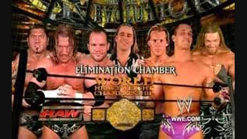 (WWE Mania) New Years Revolution 2005 Triple H vs Edge vs Chris Benoit vs Chris Jericho vs Batista vs Randy Orton