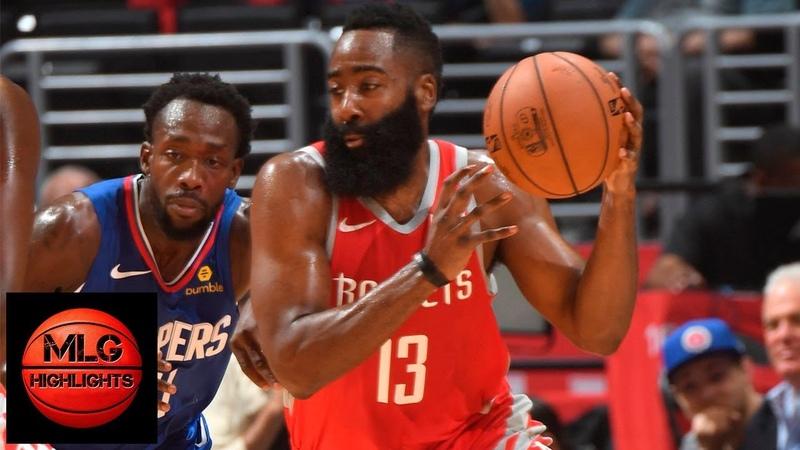 Houston Rockets vs LA Clippers Full Game Highlights 10 21 2018 NBA Season