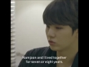Yoongi, how long have you and namjoon live together