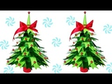 How to make Table top Christmas Trees from Paper | DIY Christmas Crafts