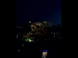 Лазерное шоу фонтанов Умань