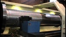 Wire Rope Drum turned on LFM1800mm x 6M CNC Lathe