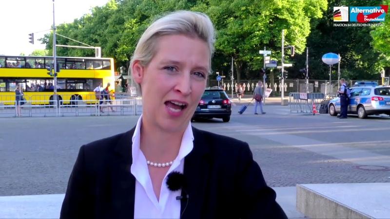 Susanna ist ein weiteres Opfer von Merkels Politik - Alice Weidel, AfD
