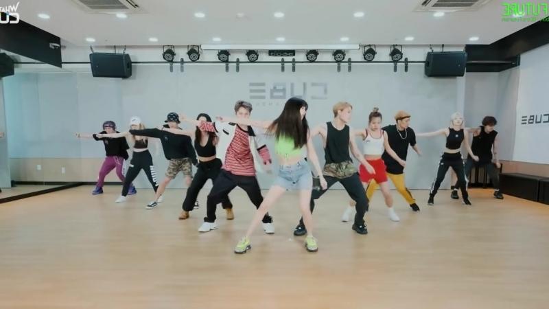 Triple H (트리플 H) - RETRO FUTURE Dance Practice [Mirrored]
