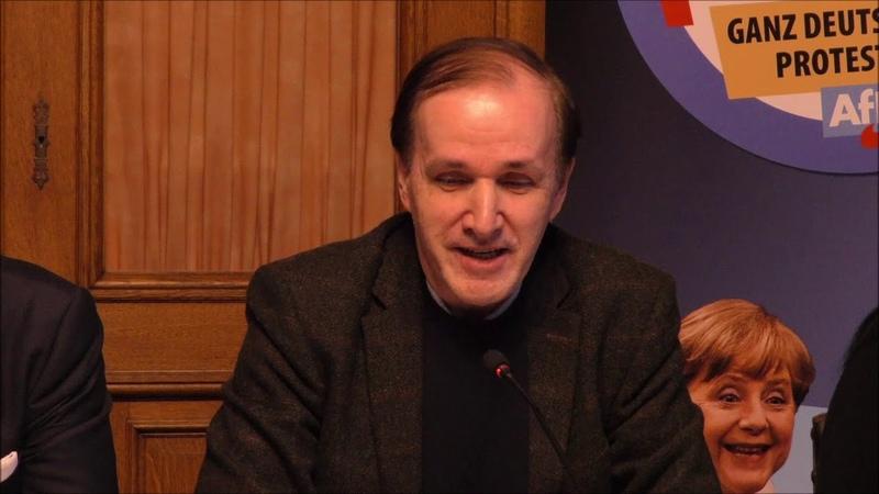 Pressekonferenz Hamburger Erklärung | Dr. Gottfried Curio