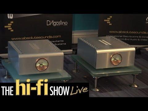 Wilson Audio D'Agostino Progression dCS Transparent Cabling Absolute Sounds @ Hi-Fi Show Live 2017