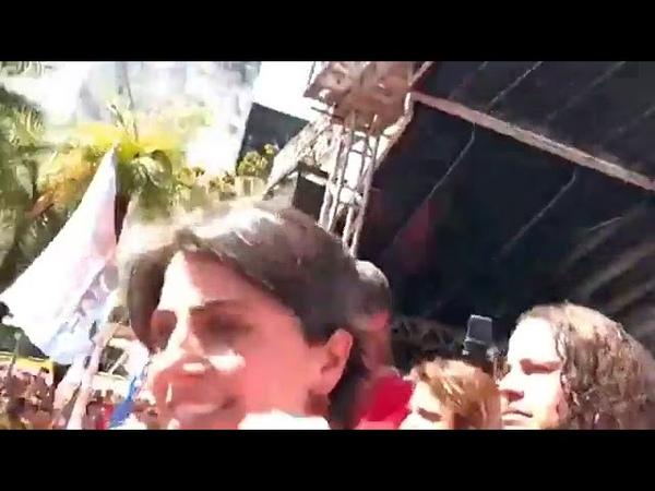 CAMPANHA DO HADDAD PRESIDENTE CHEGA A RECIFE e a multidão clama por Lula Presidente