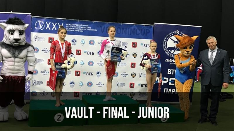 Vault CIII Junior Voronin Cup 2018 Прыжок