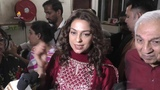 Legendary Lata Mangeshkar Presents Multi-Talented Reeva Rathod With Juhi Chawla