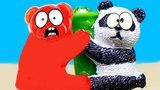 PANDA VS JELLY GUMMY BEAR VALERA