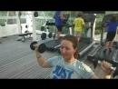 Круговая full body тренировка на Мальдивах🏖️👍🏋️💪