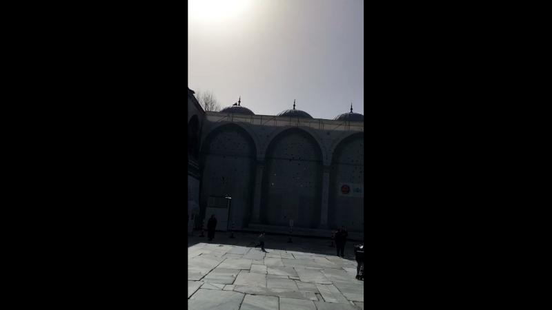 Стамбул, март 2018. Голубая мечеть